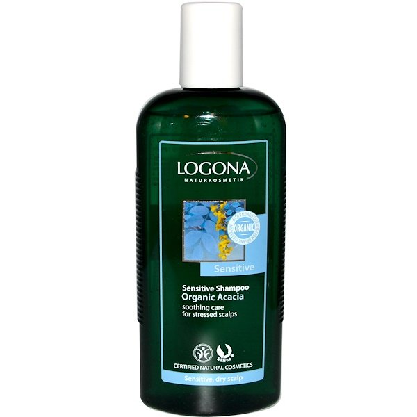 Logona Naturkosmetik, Sensitive Shampoo, Organic Acacia, 8.5 fl oz (250 ml) (Discontinued Item)