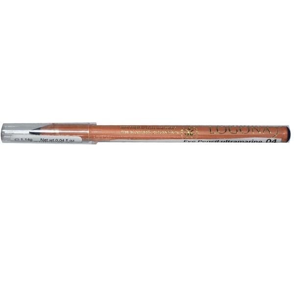 Logona Naturkosmetik, Eye Pencil, Ultramarine 04, 0.04 oz (1.14 g) (Discontinued Item)