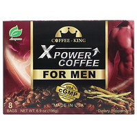 Xpower Coffee for Men, 8 Bags, 6.9 oz (196 g) - фото