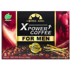 Лонгрин корпоратион, Xpower Coffee for Men, 8 Bags, 6.9 oz (196 g) отзывы