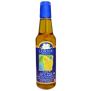Лорива, All Natural, Pure Extra Virgin Sesame Expeller Pressed Oil, 12.7 fl oz (376 ml) отзывы покупателей
