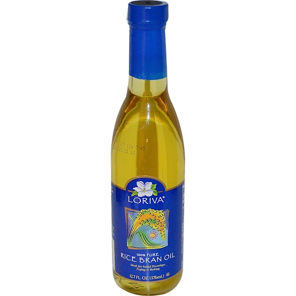 100% Pure Rice Bran Oil, 12.7 fl oz (376 ml)