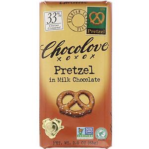 Чоколав, Pretzel in Milk Chocolate, 30% Cocoa, 2.9 oz (83 g) отзывы