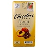 Chocolove, Peach & Pecan in Milk Chocolate, 3.1 oz (87 g)