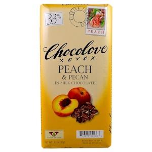 Чоколав, Peach & Pecan in Milk Chocolate, 3.1 oz (87 g) отзывы покупателей