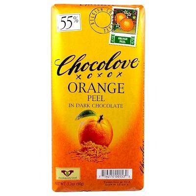 Купить Апельсиновая кожура в черном шоколаде, 3.2 унции (90 г.)