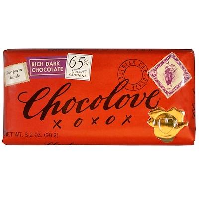 Купить Насыщенный темный шоколад, 3, 2 унции (90 г)