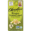 Chocolove, Ginger Crystallized in Dark Chocolate, 65% Cocoa, 3.2 oz (90 g)