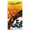 Chocolove, Dark Chocolate Covered Salted Almonds, 3 oz (85g)