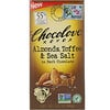 Chocolove, Almonds, Toffee & Sea Salt in Dark Chocolate, 3.2 oz (90 g)