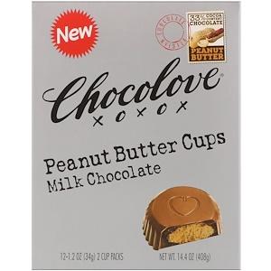 Чоколав, Peanut Butter Cups, Milk Chocolate, 12- 2 Cup Packs, 1.2 oz (34 g) Each отзывы