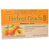 Bigelow, Herbal Tea, Perfect Peach, Caffeine Free, 20 Tea Bags, 1.37 oz (38 g)