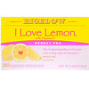 Bigelow, Herbal Tea, I Love Lemon with Vitamin C, Caffeine Free, 20 Tea Bags, 1.28 oz (36 g)