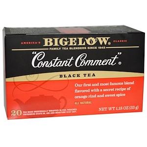 Бигелоу, Black Tea, Constant Comment, 20 Tea Bags, 1.18 oz (33 g) отзывы покупателей