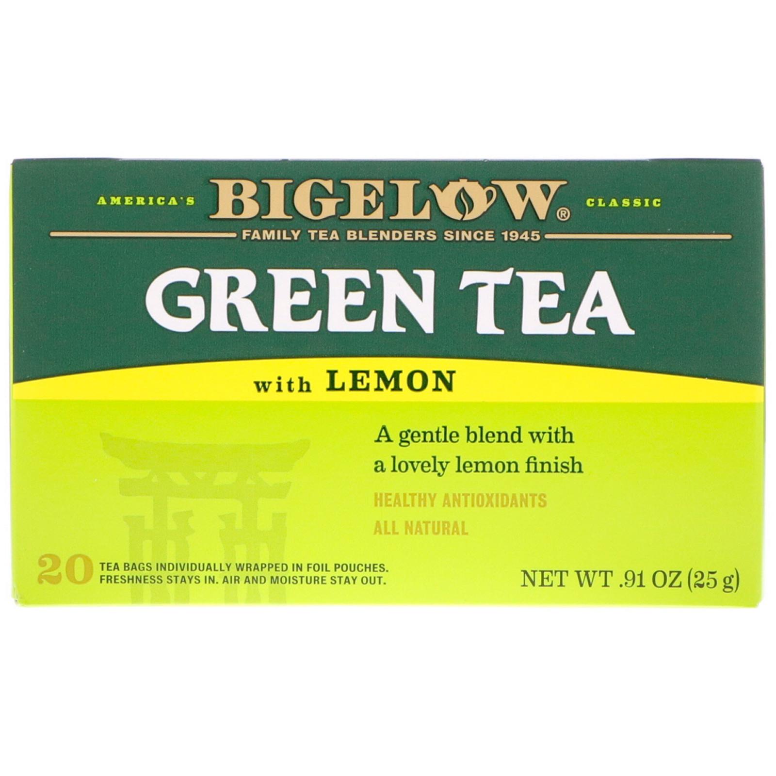 Bigelow, Green Tea with Lemon, 20 Tea