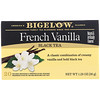 Bigelow, Black Tea, French Vanilla, 20 Tea Bags, 1.28 oz (36 g)