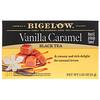 Bigelow, 紅茶,香草焦糖,20個茶包,1.82盎司(51克)