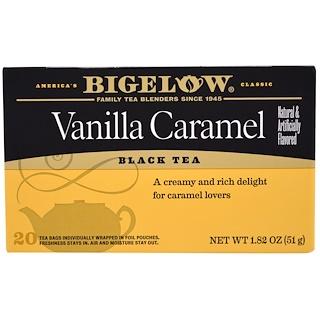 Bigelow, Black Tea, Vanilla Caramel, 20 Tea Bags, 1.82 oz (51 g)