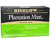 Bigelow, Black Tea, Plantation Mint, 20 Tea Bags, 1.18 oz (33 g)