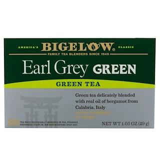 Bigelow, Early Grey Green Tea, 20 Tea Bags, 1.05 oz (29 g)