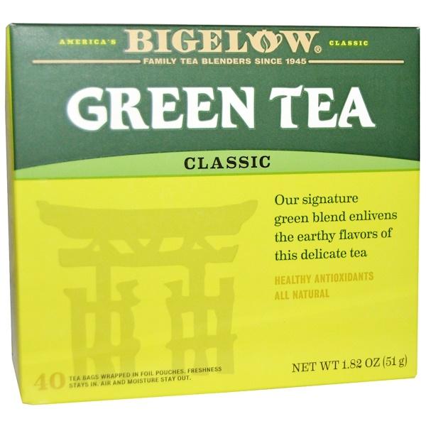 Bigelow, Green Tea, 40 Tea Bags, 1.82 oz (51 g) (Discontinued Item)