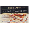 Bigelow, Black Tea, Toasted Coconut Almond Bark, 18 Tea Bags, 1.23 oz (34 g)