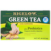 Green Tea with Ginger Plus Probiotics, 18 Tea Bags, .90 oz (25 g)