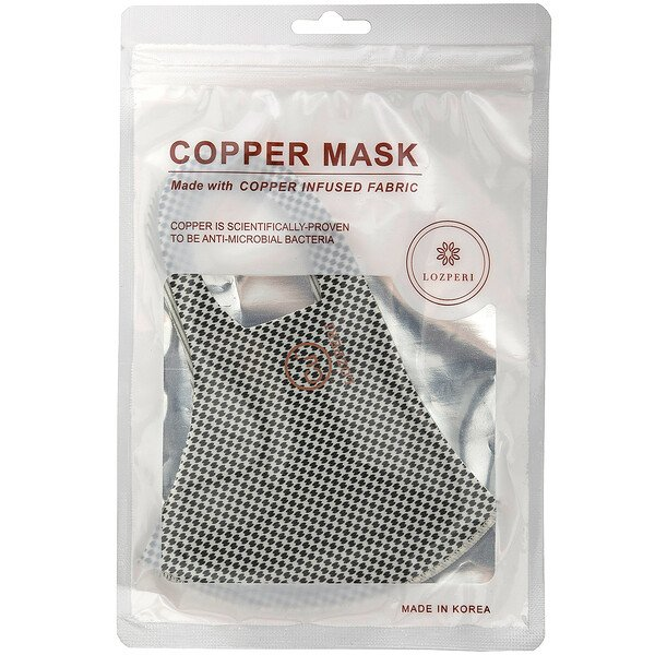 Copper Mask, Adult, Dot, 1 Count