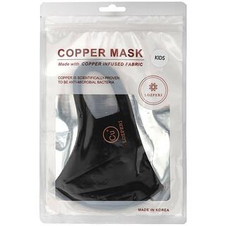 Lozperi, Copper Mask, Kids, Black, 1 Mask