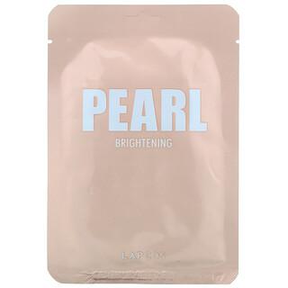 Lapcos, Pearl Sheet Beauty Mask, Brightening, 1 Sheet, 0.81 fl oz (24 ml)