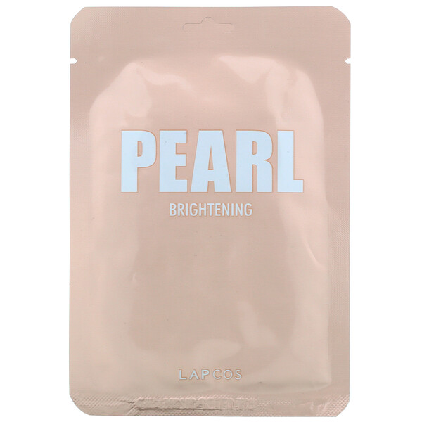 Pearl Sheet Beauty Mask, Brightening, 1 Sheet, 0.81 fl oz (24 ml)