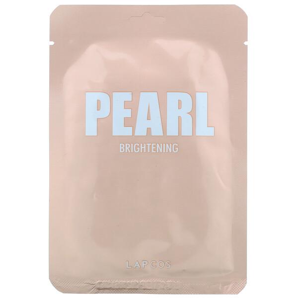 珍珠透亮美容面膜,1 片,0.81 盎司(24 毫升)
