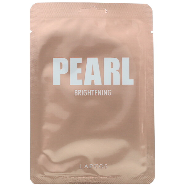 Daily Skin Beauty Mask Pearl, Brightening, 5 Sheets, 0.81 fl oz (24 ml) Each