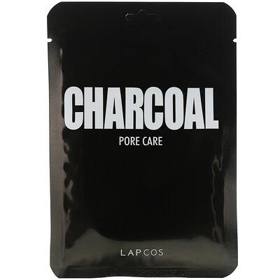 Купить Lapcos дневная маска для лица с углем, сужение пор, 5шт., 25мл (0, 84жидк.унции) каждая