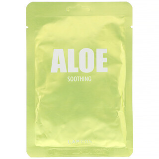 Lapcos, Aloe Sheet Beauty Mask, Soothing,  1 Sheet, 1.11 fl oz (33 ml)