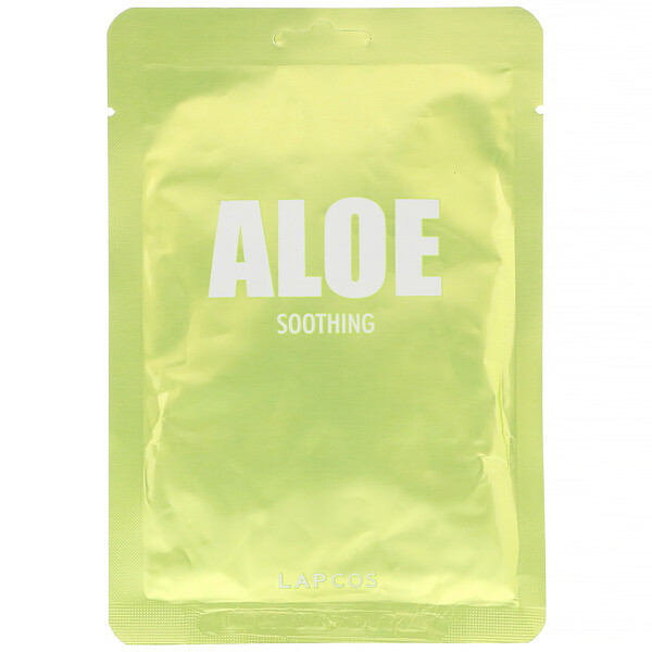 Aloe Sheet Mask, Soothing,  1 Sheet, 1.11 fl oz (33 ml)
