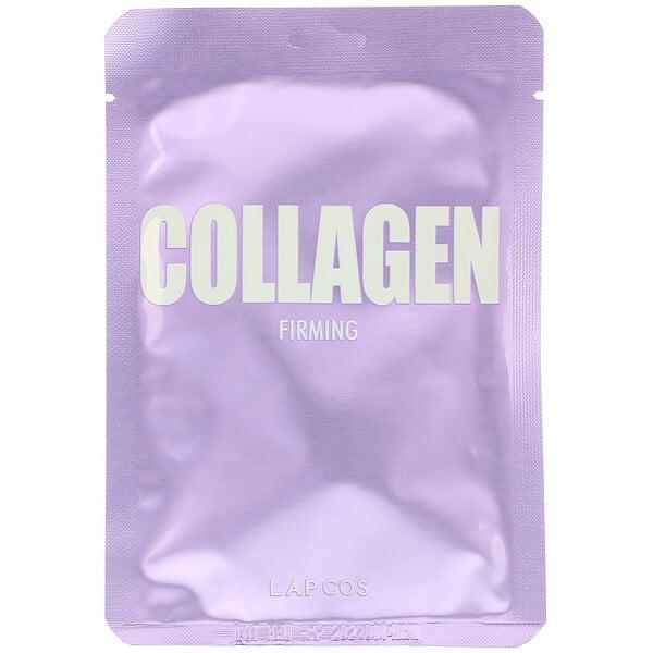 Lapcos, Collagen Sheet Mask, Firming, 1 Sheet, 0.84 fl oz (25 ml)