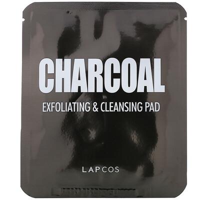 Купить Lapcos Отшелушивающие и очищающие диски с углем, 5шт., 7г (0, 24жидк.унции) каждый
