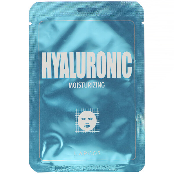 Hyaluronic Sheet Beauty Mask, Moisturizing, 1 Sheet, 0.84 fl oz (25 ml)