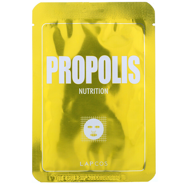 Propolis Sheet Mask, Nutrition, 1 Sheet, 0.84 fl oz (25 ml)