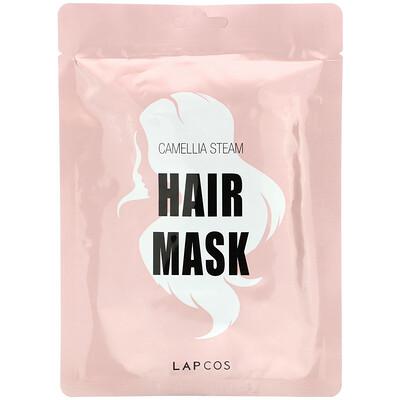 Купить Lapcos Hair Mask, Camellia Steam, 1 Mask, 1.18 fl oz (35 ml)