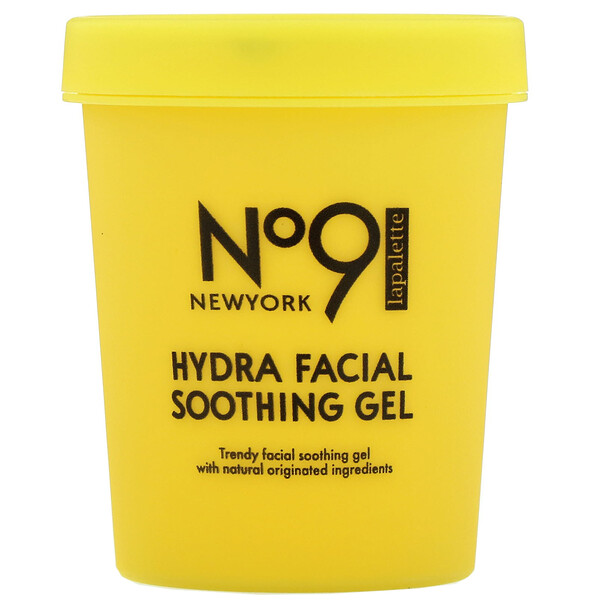 Lapalette, No.9 Hydra Facial Soothing Gel, #01 Water Jelly Lemon, 250 g (Discontinued Item)