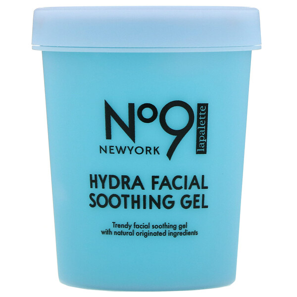 Lapalette, No.9 Hydra Facial Soothing Gel, #02 Water Jelly Blueberry, 250 g (Discontinued Item)