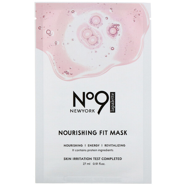 No.9 Nourishing Fit Mask, 10 Sheets, 0.91 fl oz (27 ml) Each
