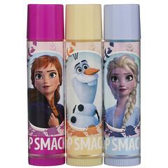 Lip Smacker, Frozen II,潤唇膏,三件套,3 件,0.42 盎司(12.0 克)