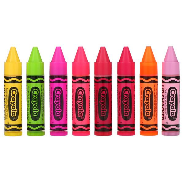 Crayola, Balm Labial, Kit Festa, 8 Unidades, 4,0 g (0,14 oz) Cada