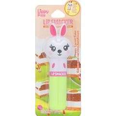 Lip Smacker, Lippy Pals 潤唇膏,兔子,蹦跳胡蘿蔔蛋糕,0.14 盎司(4 克)