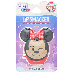 Lip Smacker, 迪士尼表情符號潤唇膏,米妮,#StrawberryLe - Bow - nade,0.26 盎司(7.4 克)