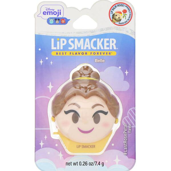 Disney Emoji Lip Balm, Belle, #LastRosePetal, 0.26 oz (7.4 g)