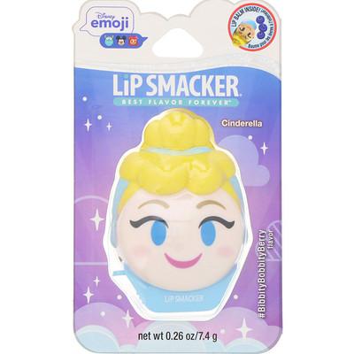 Купить Lip Smacker Бальзам для губ Disney Emoji, Cinderella, ягодный, 7, 4г